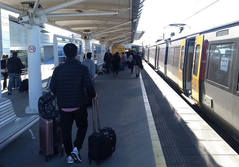 Brisbane Air Train: Domestic airport station