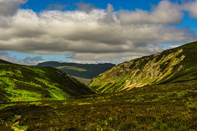 Looking Back Down The Glen