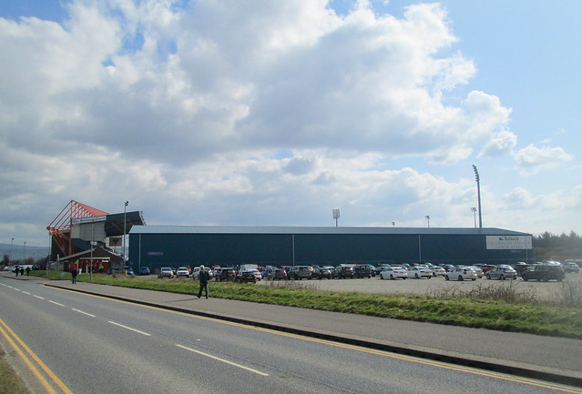 Caledonian Stadium, Inverness, North Stand