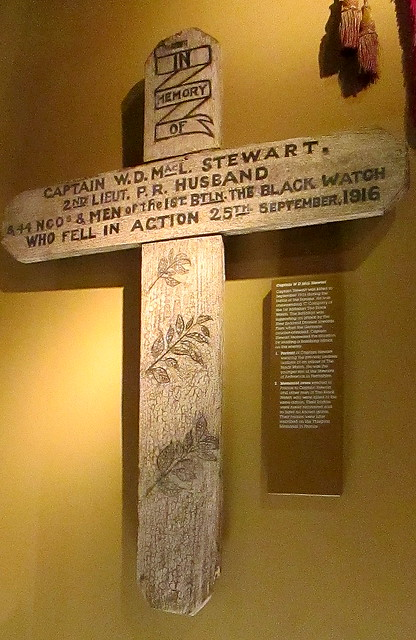 Memorial Cross, Black Watch Museum, Perth, Scotland