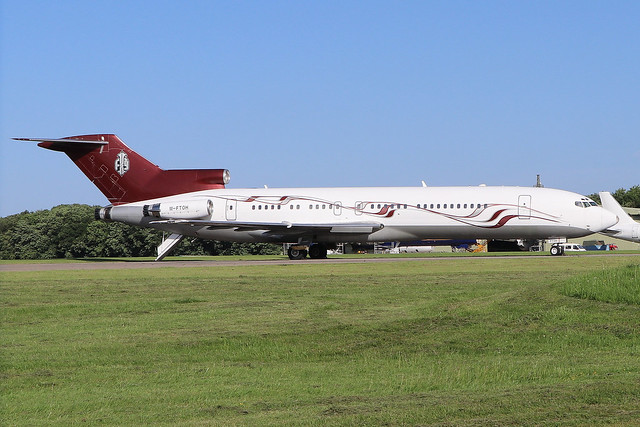 M-FTOH  -  Boeing 727-269  -  Strong Aviation  -  GBA/EGBP 27-6-19