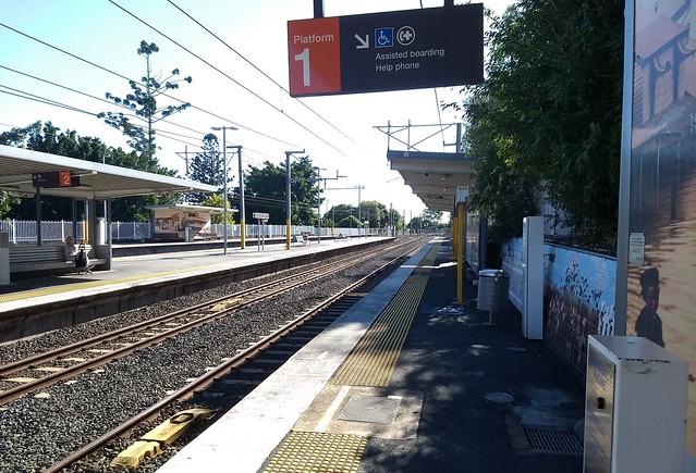 Brisbane: Wooloowin station