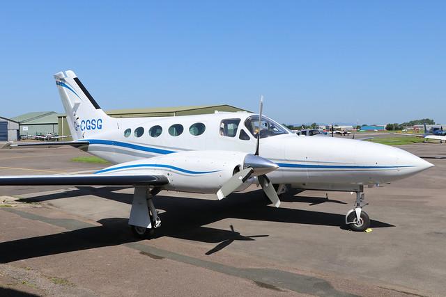 G-CGSG  -  Cessna 421C Golden Eagle  -  Private  -  GLO/EGBJ 27-6-19