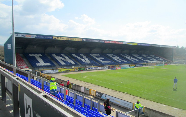 Caledonian Stadium, Inverness, South Stand from Main Stand