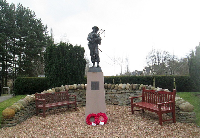 Memorial at Black Watch Museum, Perth, Scotland