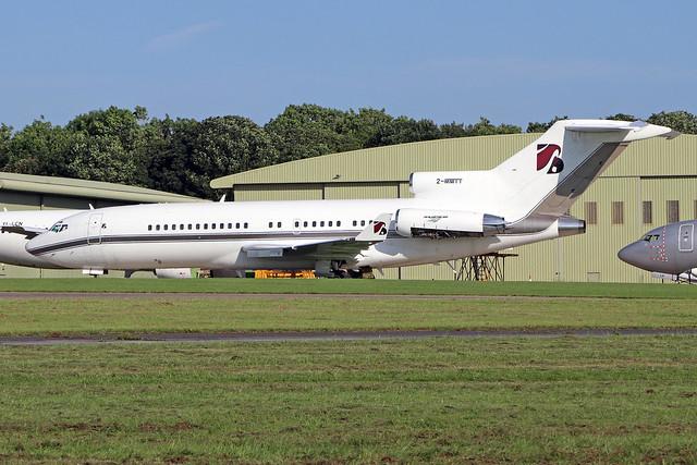 2-MMTT  -  Boeing 727-76  -  Platinum Services  -  GBA/EGBP 27-6-19