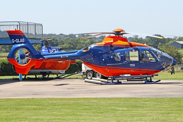 G-GLAB  -  Eurocopter EC135 T2  -  PDG Helicopters  -   EGBO 27-6-19