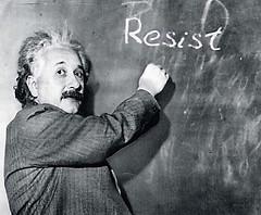 Einstein Resistance