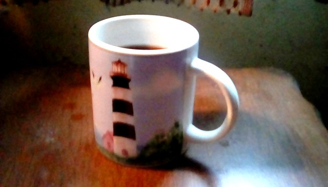 Lighthouse mug  Menominee Michigan