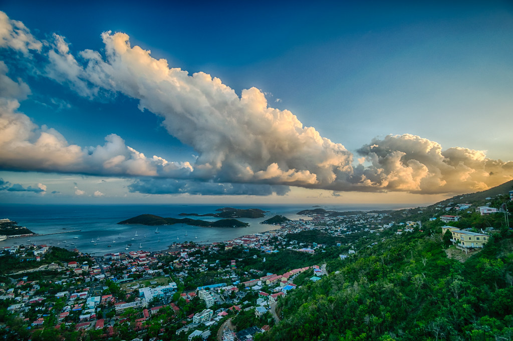 Charlotte Amalie at day's end