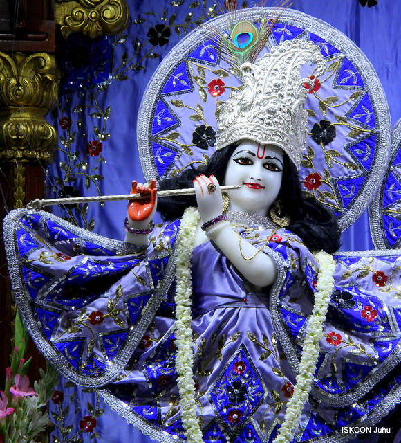 ISKCON Juhu Mangal Deity Darshan on 28th June 2019