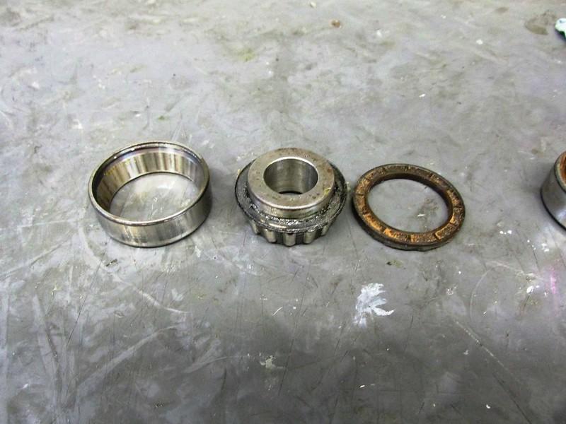 Sealed Bearing Disassembled