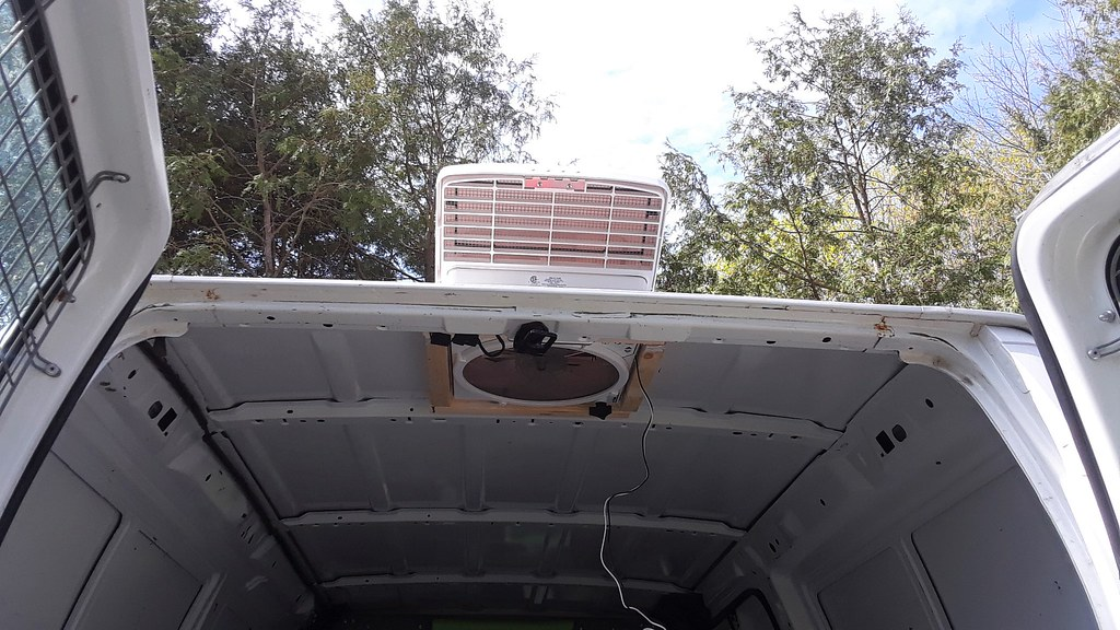 Added a fan to our van