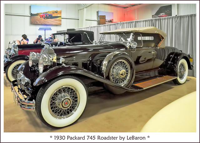 1930 Packard 745 Roadster by LeBaron