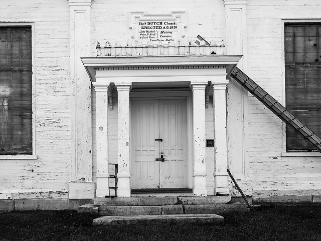 Snell's Bush Church Entrance