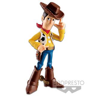 帥氣的牛仔警長駕到~ BANDAI SPIRITS COMICSTARS 系列 皮克斯角色《玩具總動員》胡迪 ピクサーキャラクターズ Woody Pride 通常色彩/黑白Ver.
