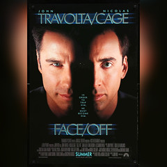 Face/Off (1997) 👱‍♂️👱‍♂️ (06/27/19) #johntravolta #nicolascage #faceoff #faceofffilm #johnwoofilm #movierelease #summer1997