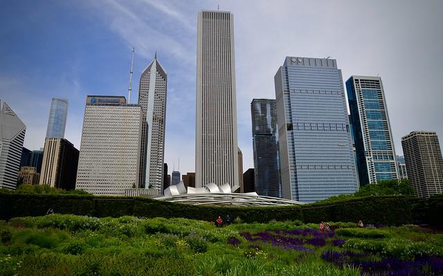 Lurie Garden Chicago IL