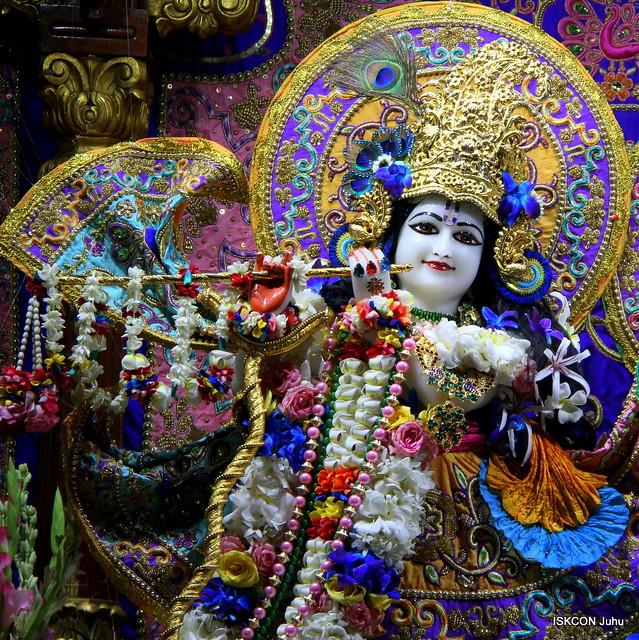 ISKCON Juhu Sringar Deity Darshan on 28th June 2019