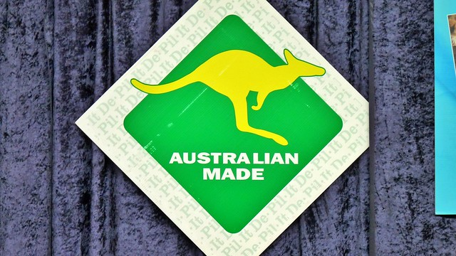 Schild Australian Made