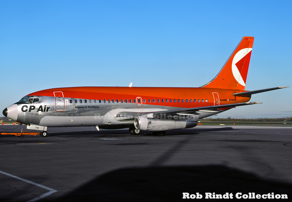 CP Air B737-217/Advanced C-GCPU