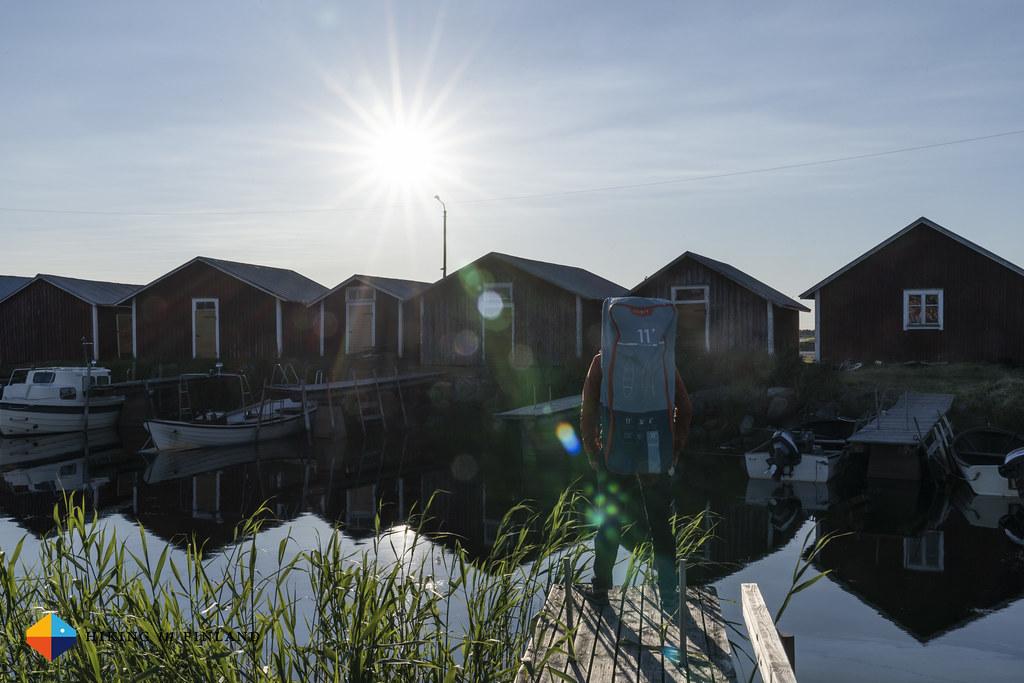 Admiring Svedjehamn Harbour