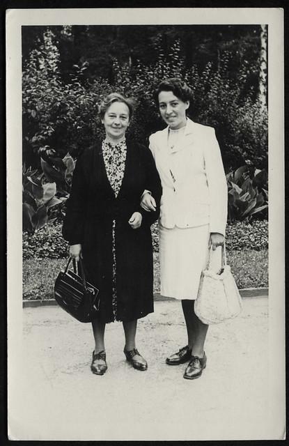 Archiv T342 Geburtstagskarte von Tante Ruth, 1950er
