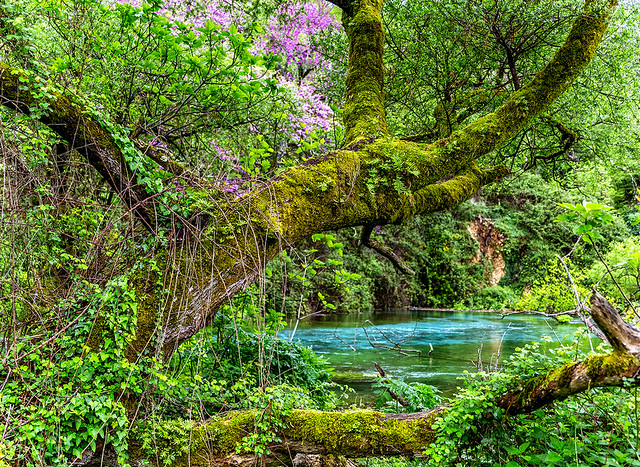 Syri i Kaltër - Blaues Auge - Sarande, Albanien