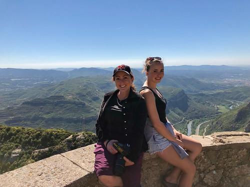 Trish and Abbie at Montserrat