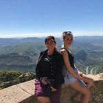Trish and Abbie at Montserrat