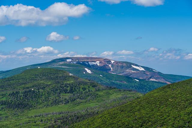 蔵王山、杉ヶ峰、、芝草平