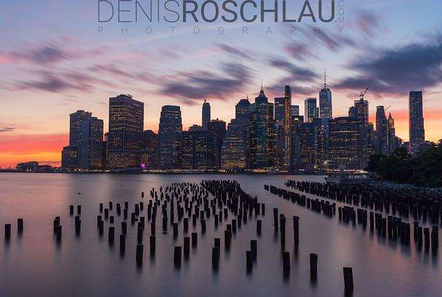 Downtown Manhattan Sunset