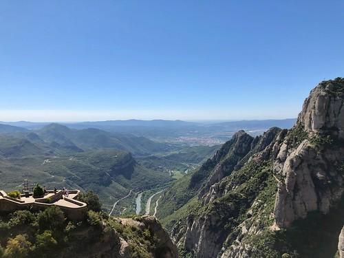 Gorgeous day at Montserrat
