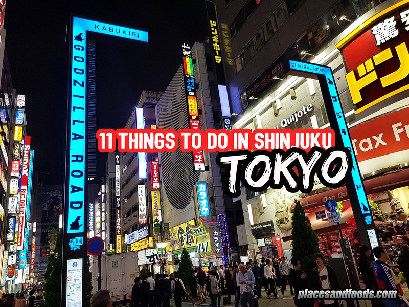 things to do shinjuku