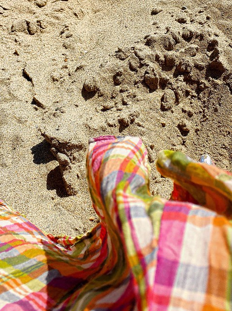 I need my barefeet in the sand