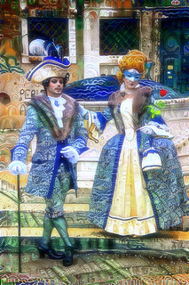 Venice Carnival 2017 - Para Painting preset from NeuralStyle