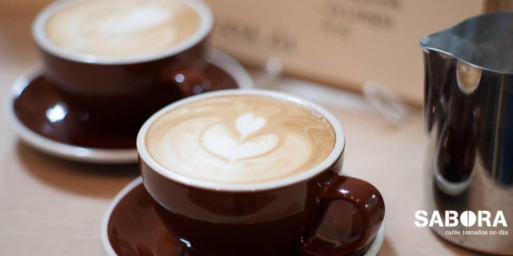 Café latte versus café capuccino