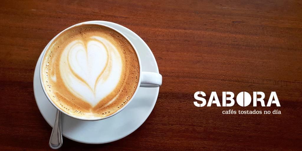 Latte cafés sabora