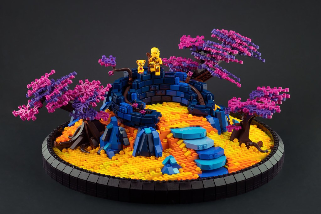Western Woods (custom built Lego model)