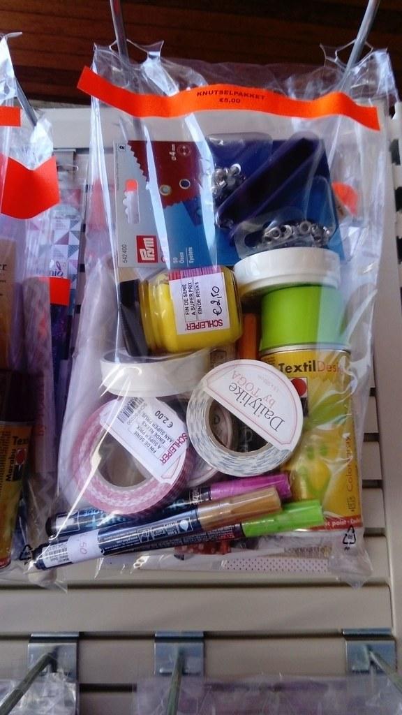 Bolsas de productos rebajados