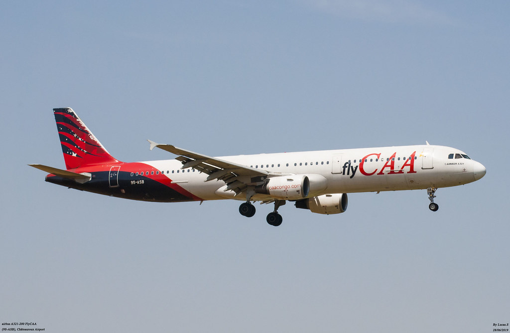 airbus A321-200 FlyCAA (9S-ASB)