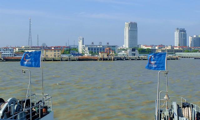 Chengqiao - Approaching the Port