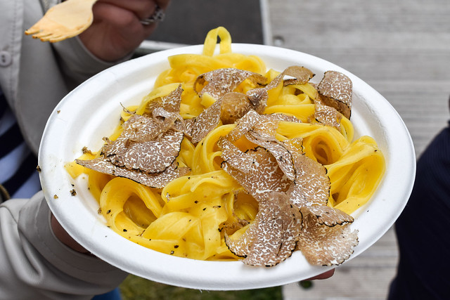 Sartoria's Fettuccine with Truffle at Taste of London