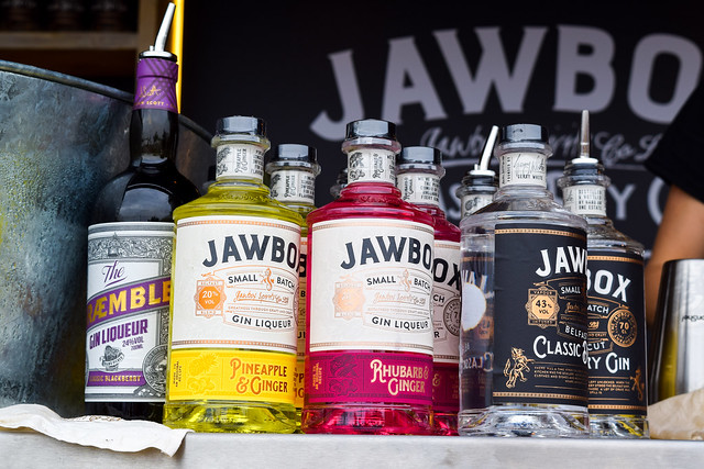 Jawbox Gin at Taste of London