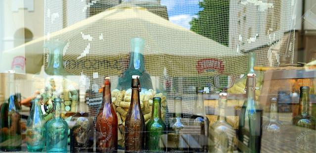 Bottles in Warsaw