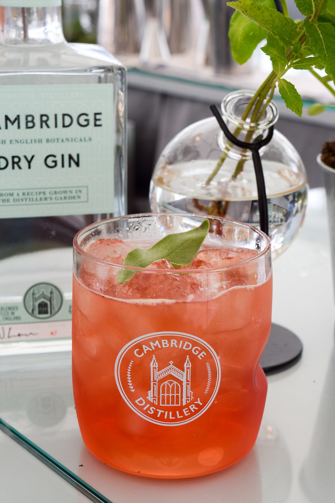 Cambridge Gin Collins at Taste of London
