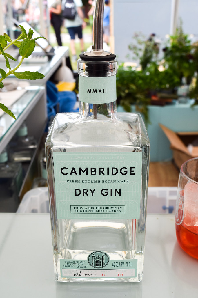 Cambridge Dry Gin at Taste of London