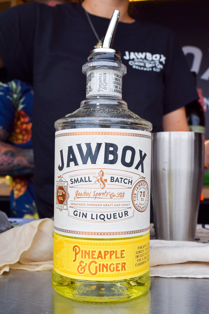 Jawbox Pineapple and Ginger Gin at Taste of London