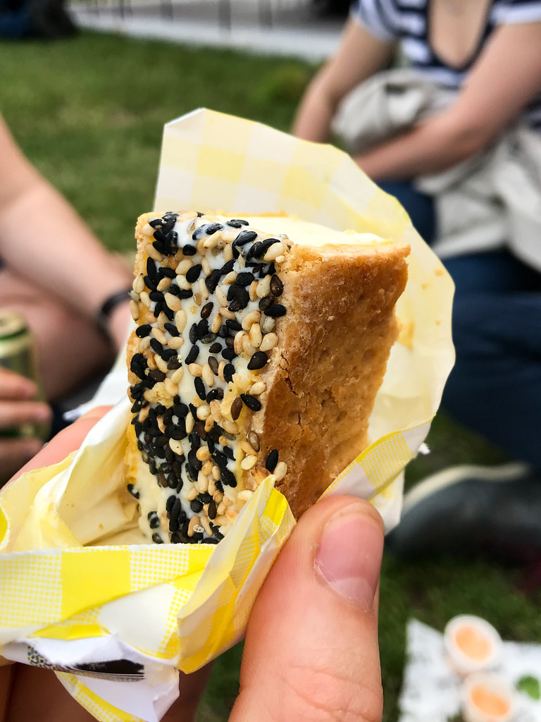 Happy Endings x Jae Yuzu Ice Cream Sandwich at Taste of London