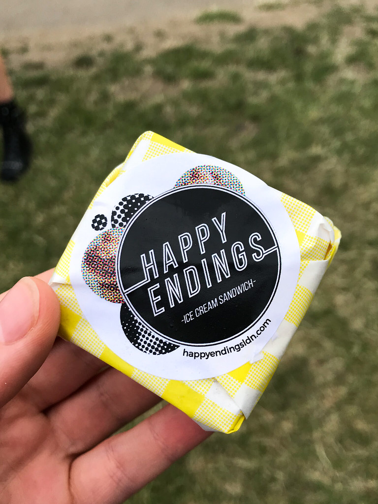 Happy Endings x Jae Ice Cream Sandwich at Taste of London